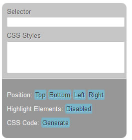 custom float form with jQuery