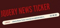 Very Useful News Ticker with jQuery