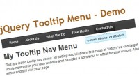 jQuery good Dropdown Menu Tooltips
