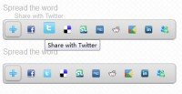Great Social Media Share and Bookmark  Plugin With jQuery