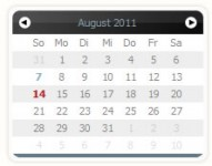 Calender Eightysix  datepicker with mootools