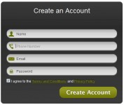 html5 and CSS3 Modern Web Forms effect