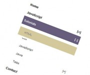 multi level slide accordion menu with jQuery