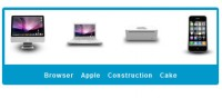 like apple JQuery  Slide Navigation Plugin