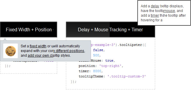 jQuery Mouse Tracking Tooltips plugin