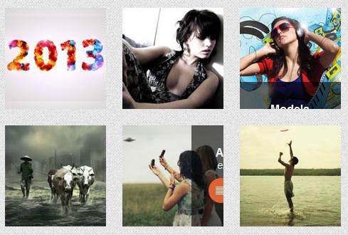 jquery beautiful responsive portfolio hover gallery | image gallery