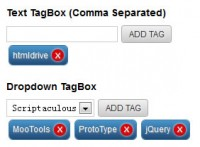 jQuery useful TagBox Plugin