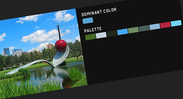 Images Color Thief with jQuery