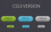 Beautiful Pure CSS3 Buttons