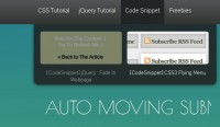 jQuery cool auto moving submenu