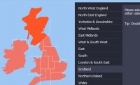 jQuery  BBC News Map menu plugin