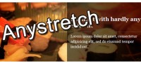 Very using jQuery Anystretch effect
