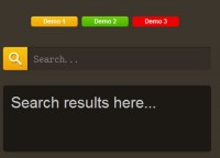jQuery slide Search Box Plugin
