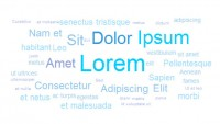 jQuery Text Cloud effect