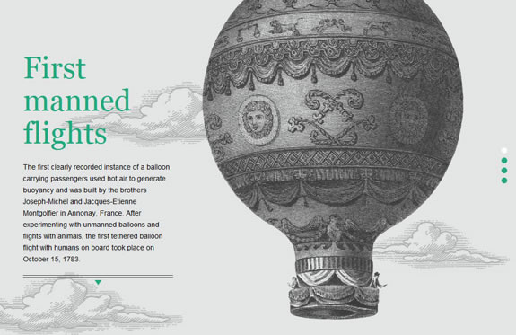 Very nice jQuery and CSS3 parallax scrolling