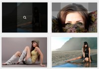 Pure CSS3 images Hover Effects