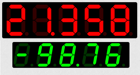 sevenSeg.js - A tiny JavaScript jQuery UI plugin for creating vector-based (SVG) seven-segment displays in HTML