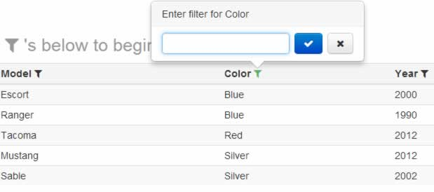 jQuery nice Filterable plugin