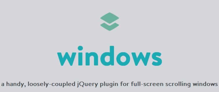 windows full-screen scrolling  with jQuery