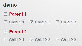 jQuery Checkbox group (parent/children) functionality