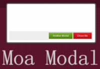 Moa Modal -jQuery flexible modal plugin