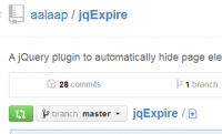 jqExpire - A jQuery plugin to automatically hide page elements after an 'expiry' date or time